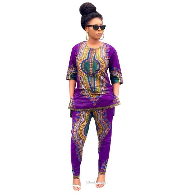 Two Piece Africana Dashiki Pants Set -  - Casual Wear, www.looklovelust.com - 3,  https://www.looklovelust.com/products/two-piece-africana-dashiki-pants-set