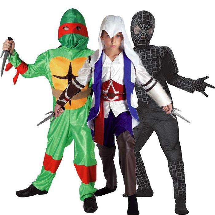 αποκριάτικες στολές για αγόρια - στολές Ηρώων  από Comic Και Παιχνιδιών δράσης