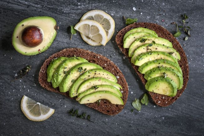 Avo and Low GI brown bread.