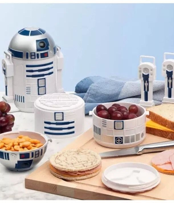 Official Licensed Star Wars R2-D2 Bento Lunch Box  | eBay