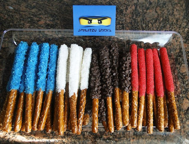 Ninjago Birthday PartyParties Snacks, Birthday Parties, Birthdays, Ninjago Birthday, Ninjago Parties, Parties Ideas, Ninjas Birthday, Parties Food, Birthday Ideas