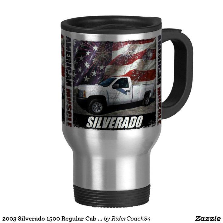 2003 Silverado 1500 Regular Cab W/T Long Bed Travel Mug