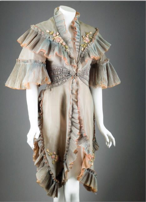 """Marilyn Monroe's original cloak from """"The Prince and the Showgirl.""""  The recent movie about MM recreated this down to the embroidery and button, not to mention two layers of silk."""