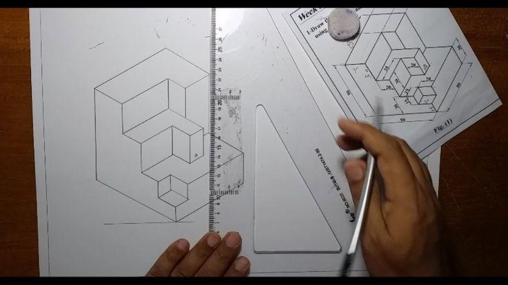 الرسم الهندسي رسم المجسمات الرسم الايزومتري الادوات الهندسية Iso Triangle Tattoo Tattoos Triangle