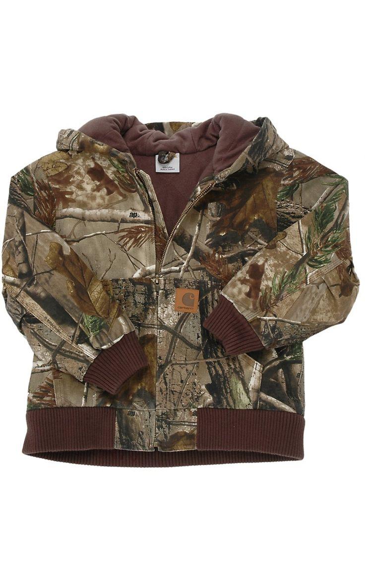 Carhartt® Boys' Work Camo Active Jacket Sizes M-XL