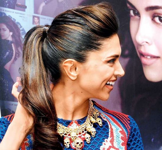 Pleasant 1000 Ideas About Deepika Padukone Hairstyles On Pinterest Short Hairstyles For Black Women Fulllsitofus