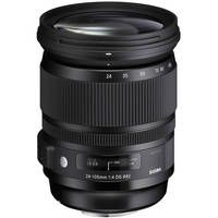 Sigma 24-105mm F/4 DG OS HSM Lens for Canon DSLR Cameras - recommended for video