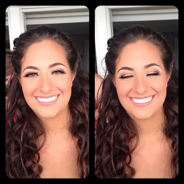 Amber Heater Gorgeous Hair Salon Salisbury Md Bridal Makeup Browns And Golds
