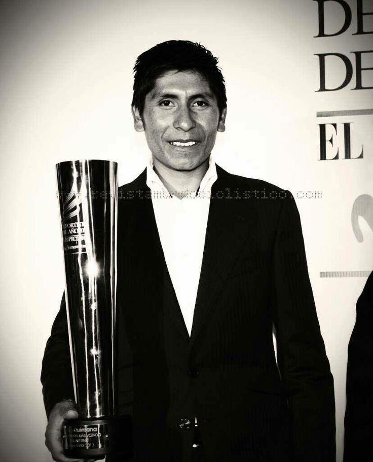Felicitaciones Nairo Quintana #ElDeportistaDelAño una vez más el #Ciclismo de #Colombia el deporte más Importante del país