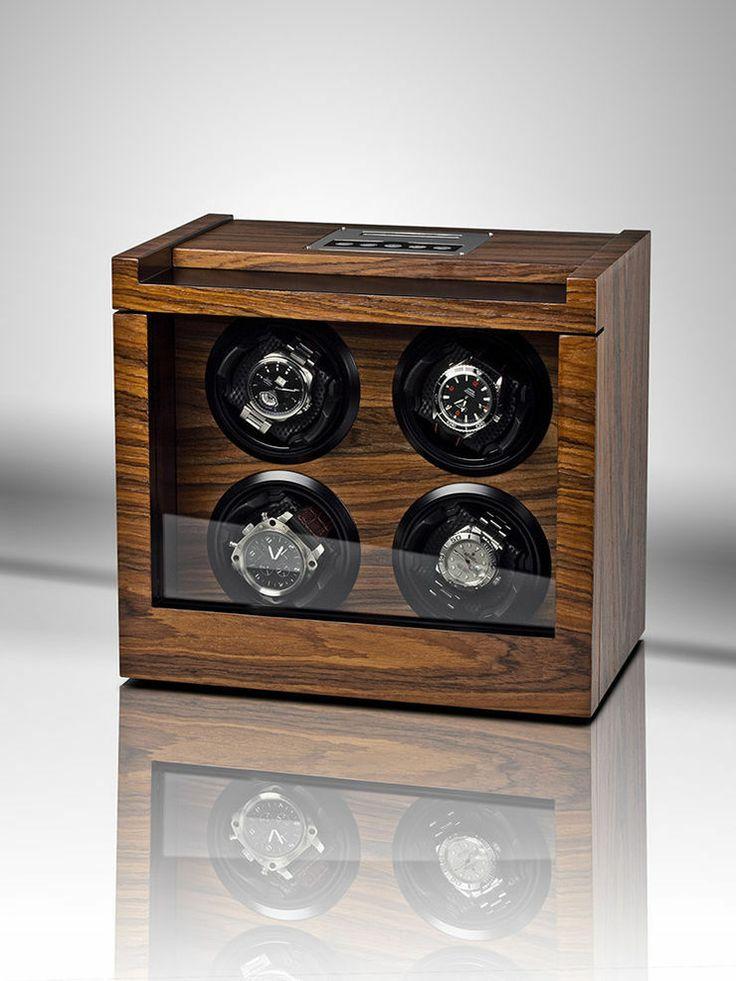 Rothenschild Uhrenbeweger Trieste RS-2303-RSW fuer 4 Uhren