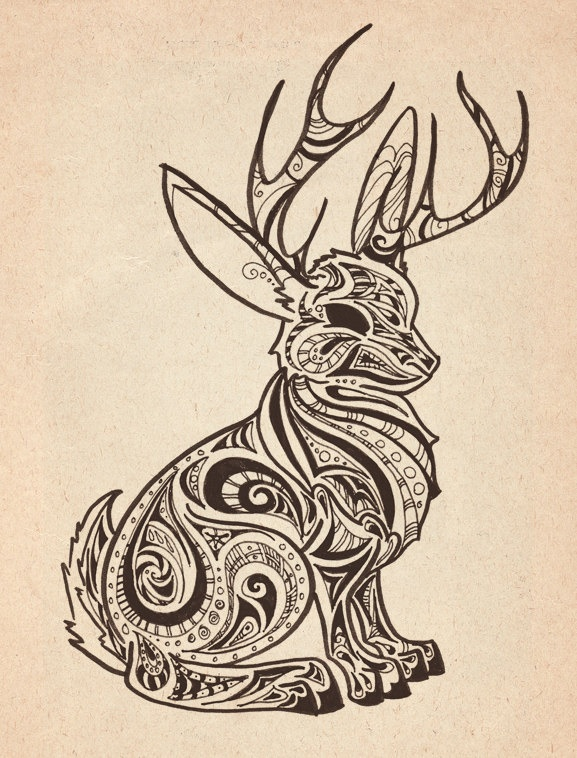 Ah, the frisky American Short-haired Jackalope. A native of the southern prairies and favorite mythological beast of taxidermists nationwide. He'll be sure to give that hungry sawdust filled coyote a good fight.