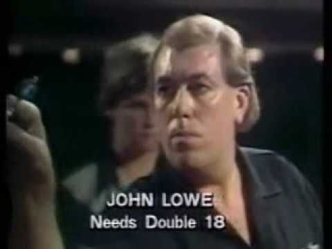 First EVER televisted 9 dart out - John Lowe