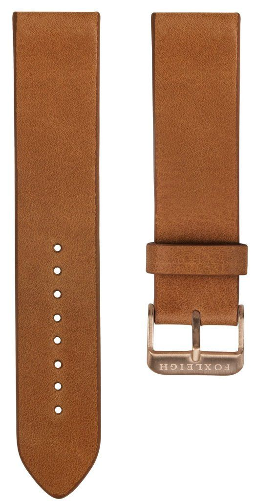 Straps - Tan With Rose Gold Buckle