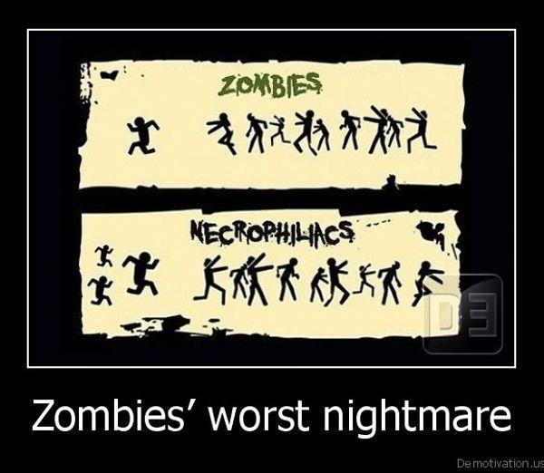 Zombies' Worst Nightmare: Laughing, Zombies Apocalypse, Zombies Nightmare, Walks Dead, Funny Stuff, Humor, Worstnightmar, Zombies Worst, Worst Nightmare