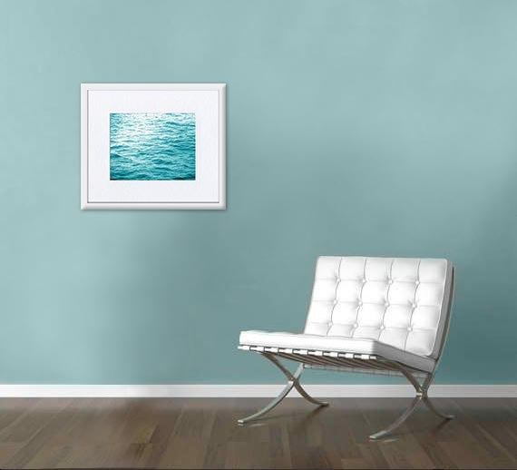 Beach photography wall art ocean texture abstact