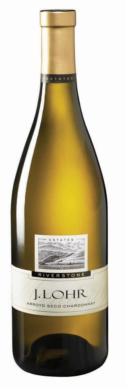 J. LOHR Chardonnay.  In honor of my dear cousin Pam!  I now am a big fan!!