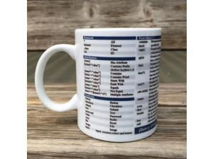 Mug Cup for Geek JQuery Mug Cup Gift /jquery programmer programmer command lookup table