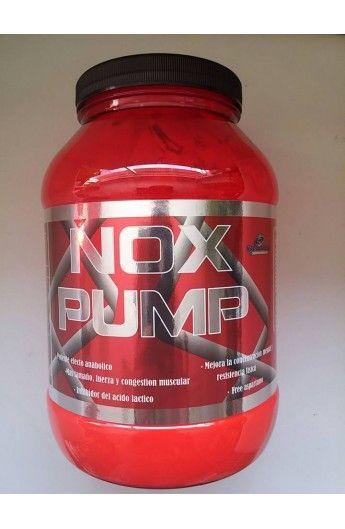 NOX PUMP Potente pre-entreno potenciador del OXIDO NITRICO sin estimulantes 1kg