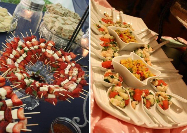 Wedding Reception Finger Foods
