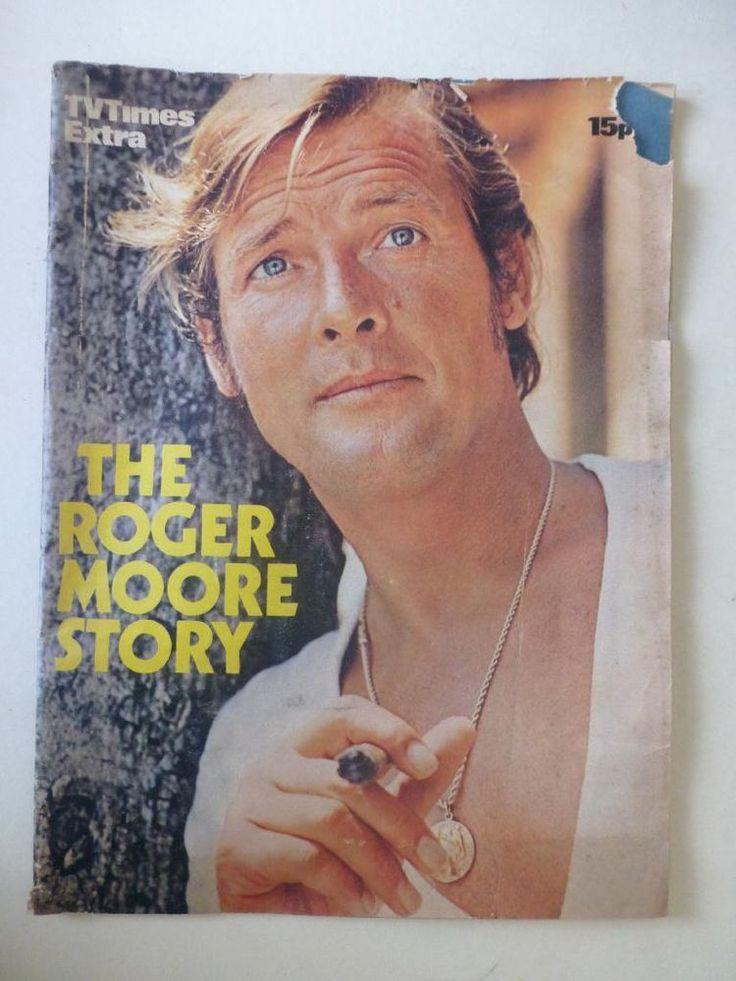 The Roger Moore Story TV Times Extra Magazine 1972 The Saint Persuaders Pre Bond  http://r.ebay.com/7rwCog