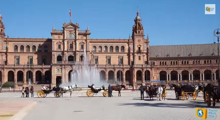 Площадь Испании в Севилье https://www.facebook.com/travelshopone