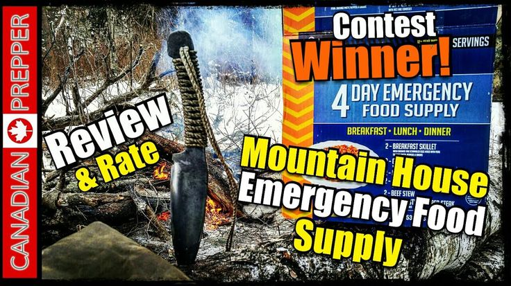 Mountain House THE BEST SURVIVAL FOOD! | Canadian Prepper  http://prepperhub.org/mountain-house-the-best-survival-food-canadian-prepper/
