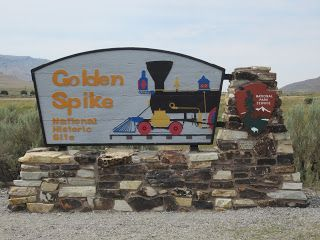 Utah Valley Family Adventures: Golden Spike National Historic Site