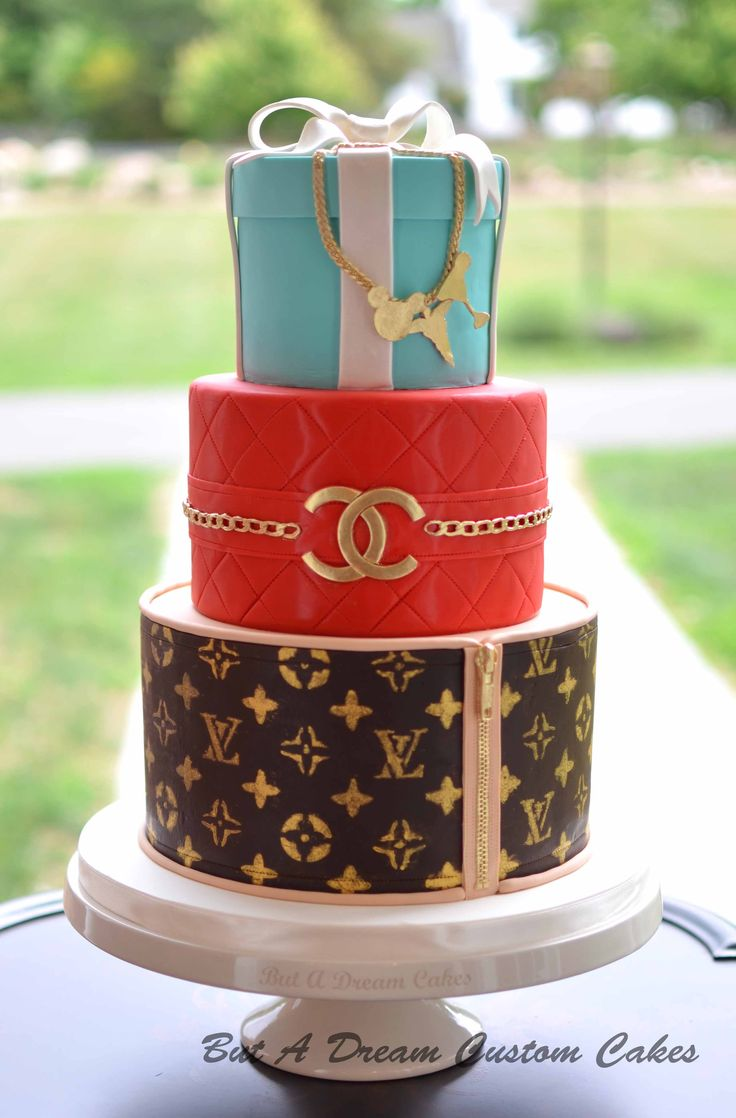 Louis Vuitton Chanel And Tiffany S Cake But A Dream