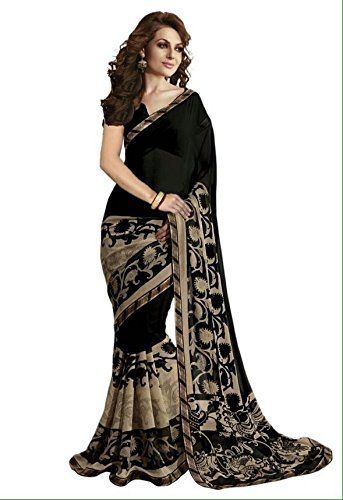 Kashvi Sarees Women's Faux Georgette Saree With Blouse Piece (1134_Multicolor) | Clothing and Accessories Ethnic Wear Sarees Women | Best news and deals!