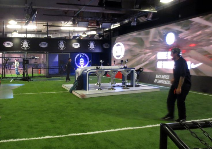 Nike House of Innovation, emotional link to Football World Cup