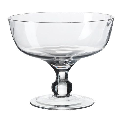 Footed centerpiece bowl from Ikea
