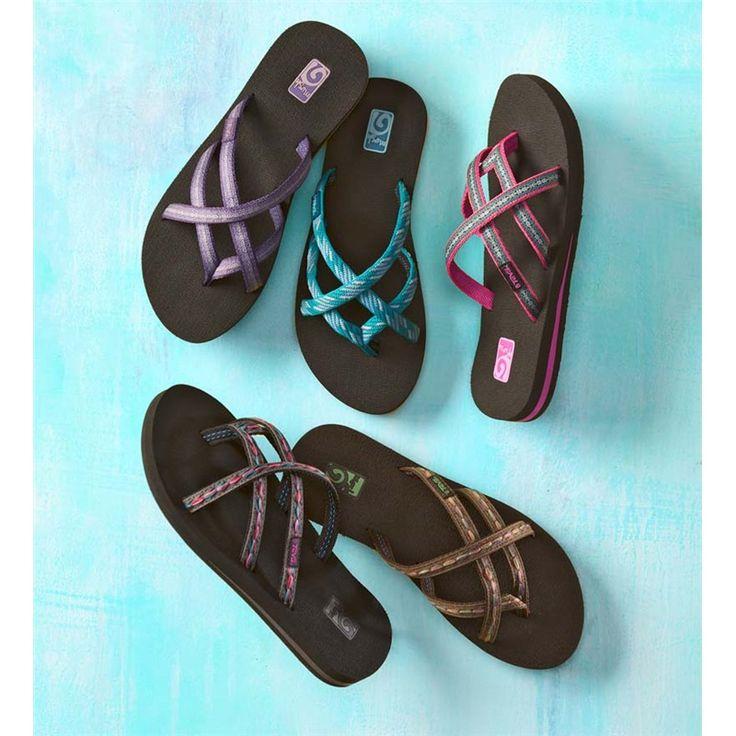 Teva® Olowahu Flip-Flops For Women   Sandals