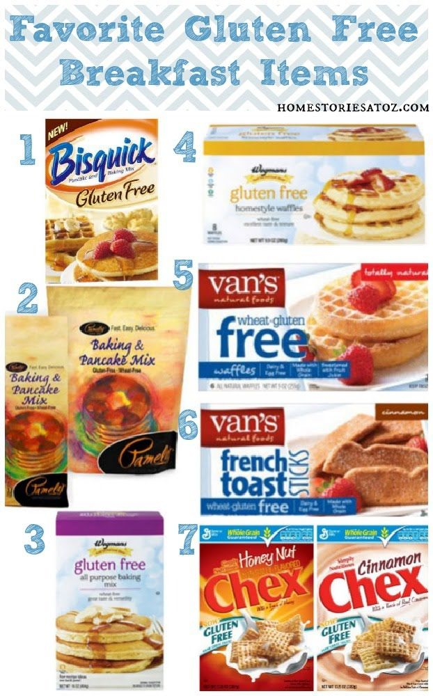 gluten free breakfast I have never tried #1 or #3 but all the others my kids like. We are very partial to Pamelas for pancakes. My kids love them and we even add bananas at times.