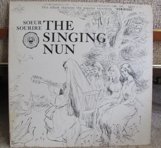 Vintage The Singing Nun Vinyl Record Album  by FrenchToastKitty