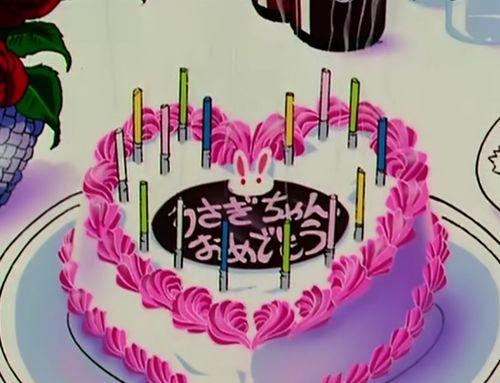 .sailor moon birthday cake