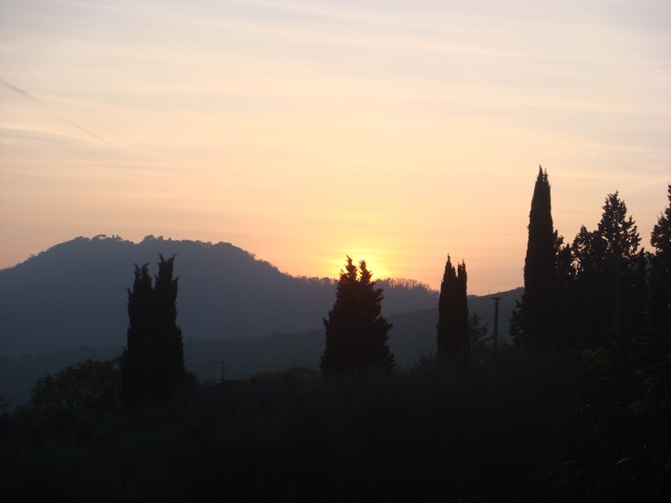 sunset_Colli Euganei