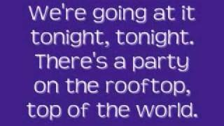 Hot Chelle Rae - Tonight Tonight [Lyrics], via YouTube. en G