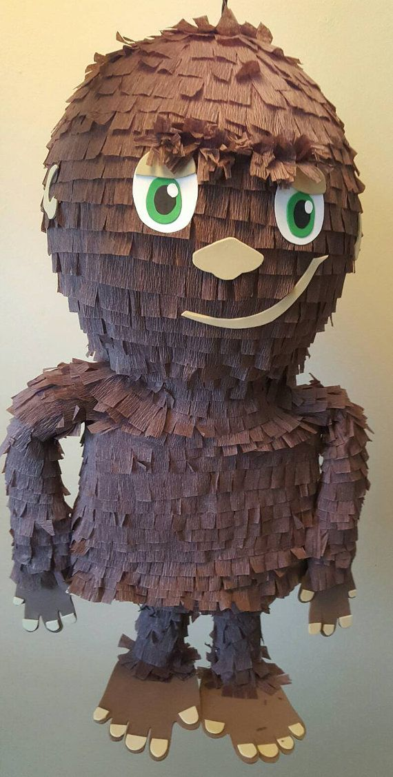 Check out this item in my Etsy shop https://www.etsy.com/listing/270990811/bigfoot-pinata