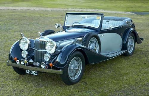Alvis Speed 25 Drophead 1937.