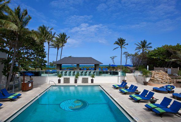 Jupiter Beach Resort & Spa (Jupiter, Florida): Located along the longest stretch of secluded beach in Palm Beach County, Jupiter Beach Resort & Spa is an unparalleled resort destination along Florida's Atlantic coast. #Florida #travel