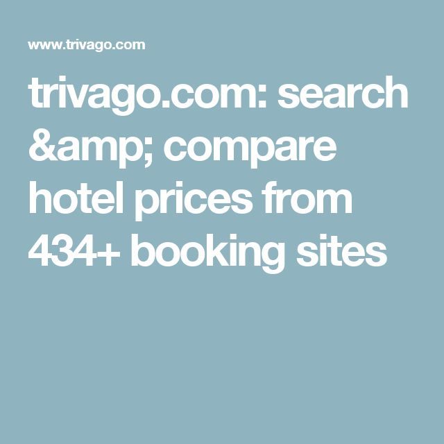 trivago.com: search & compare hotel prices from 434+ booking sites
