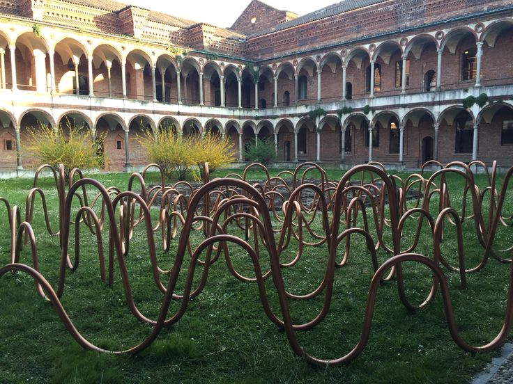#Copper labyrinth, #fuorisalone #interni #lookintomyeyesstudios