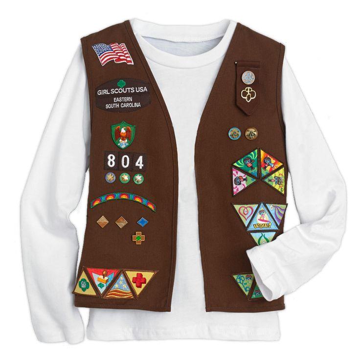 Best 25+ Brownie Vest Ideas On Pinterest