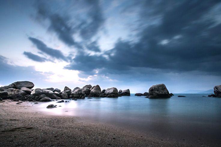 Like somewhere in a Hollywood movie...#sanya #beach #surreal