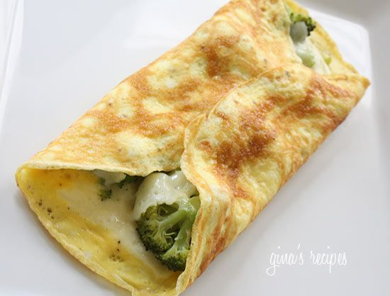 Broccoli Omelette Serves 1 Per Serving Calories 183 2 Fat