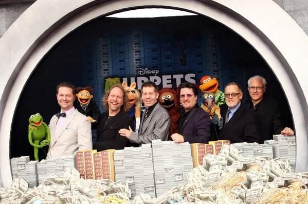 Muppets Most Wanted - Muppet Performers (Matt Vogel, Peter Linz, Eric Jacobson, Bill Barretta, Dave Goelz, David Rudman)