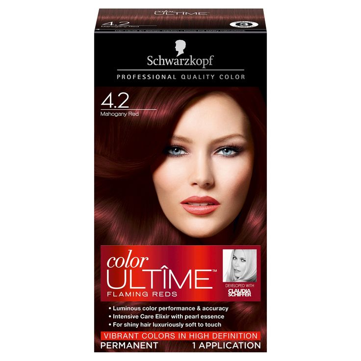 Schwarzkopf Color Ultime Flaming Reds Hair Color 4.2 Mahogany Red - 2.03 fl oz