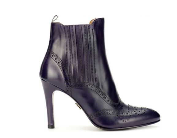 LOTTUSSE - Smithson leather ankle boots. Made in Spain.