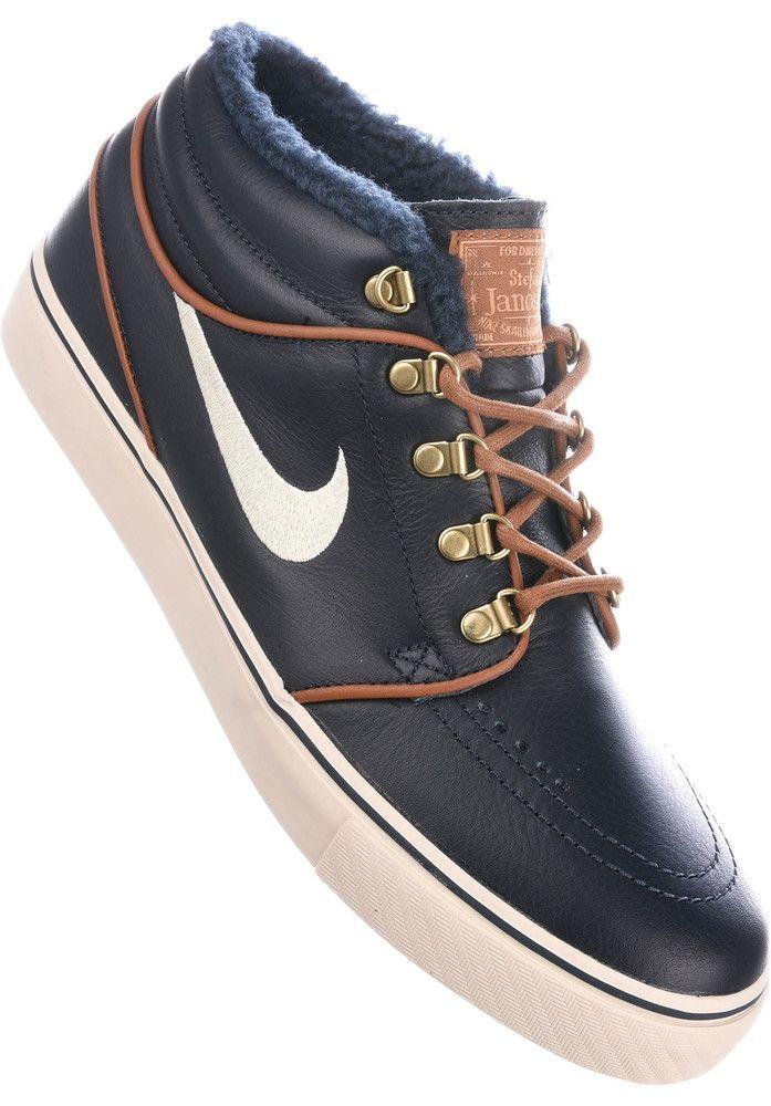 Titus DailyDeal: Nike-SB Zoom-Stefan-Janoski-Mid-PRM - titus-shop.com  #MensShoes #MenClothing #titus #titusskateshop