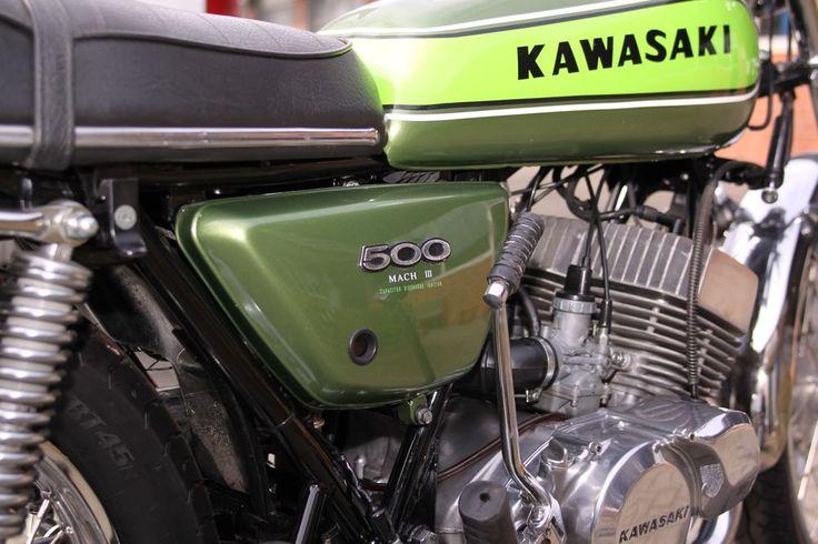 Oldtimer-Restauration Christian Greiwe - Kawasaki Mach III